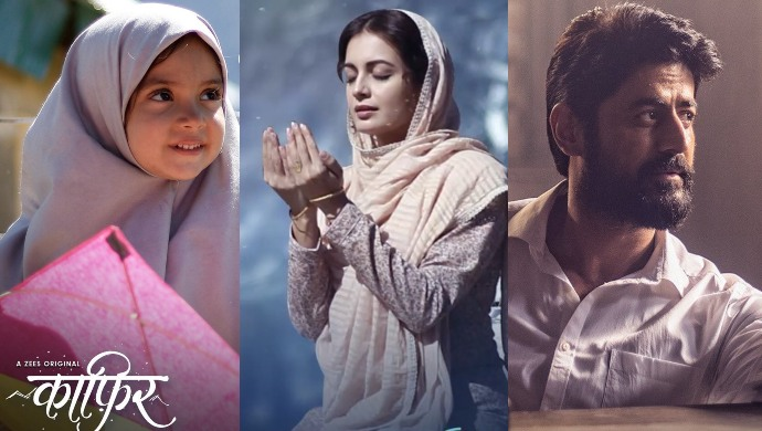 Kaafir characters Kainaaz, Seher and Vedant