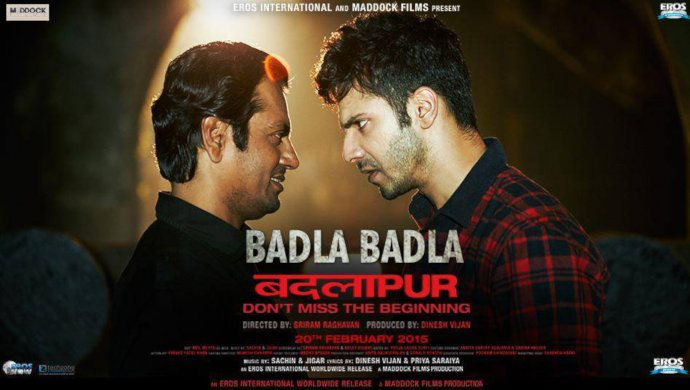 Nawazuddin Siddiqui And Varun Dhawan On The Poster Of Badlapur