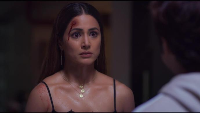Hina Khan as Sameera Khanna in Hacked