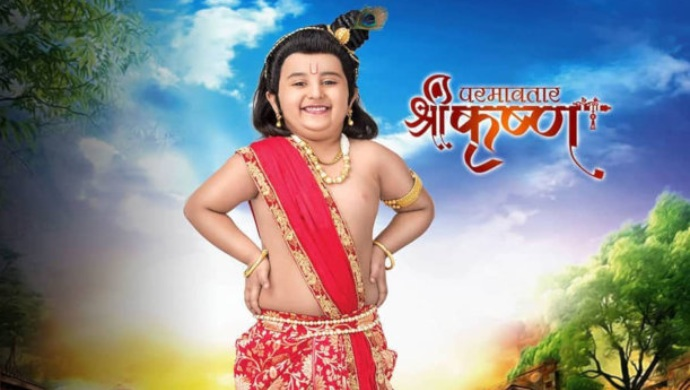 photo of lord krishna in his childhood