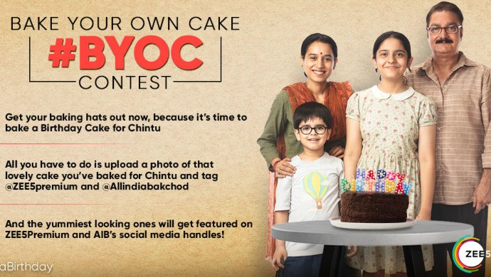 Bake your own cake contest for Chintu Ka Birthday